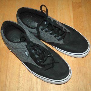 Vans Grey Off The Wall Athletic Shoe Sz 10 Mens